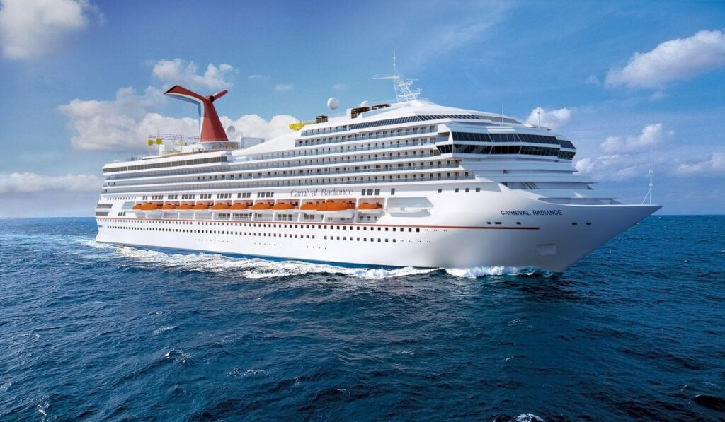Carnival Victory Officially Renamed Carnival Radiance