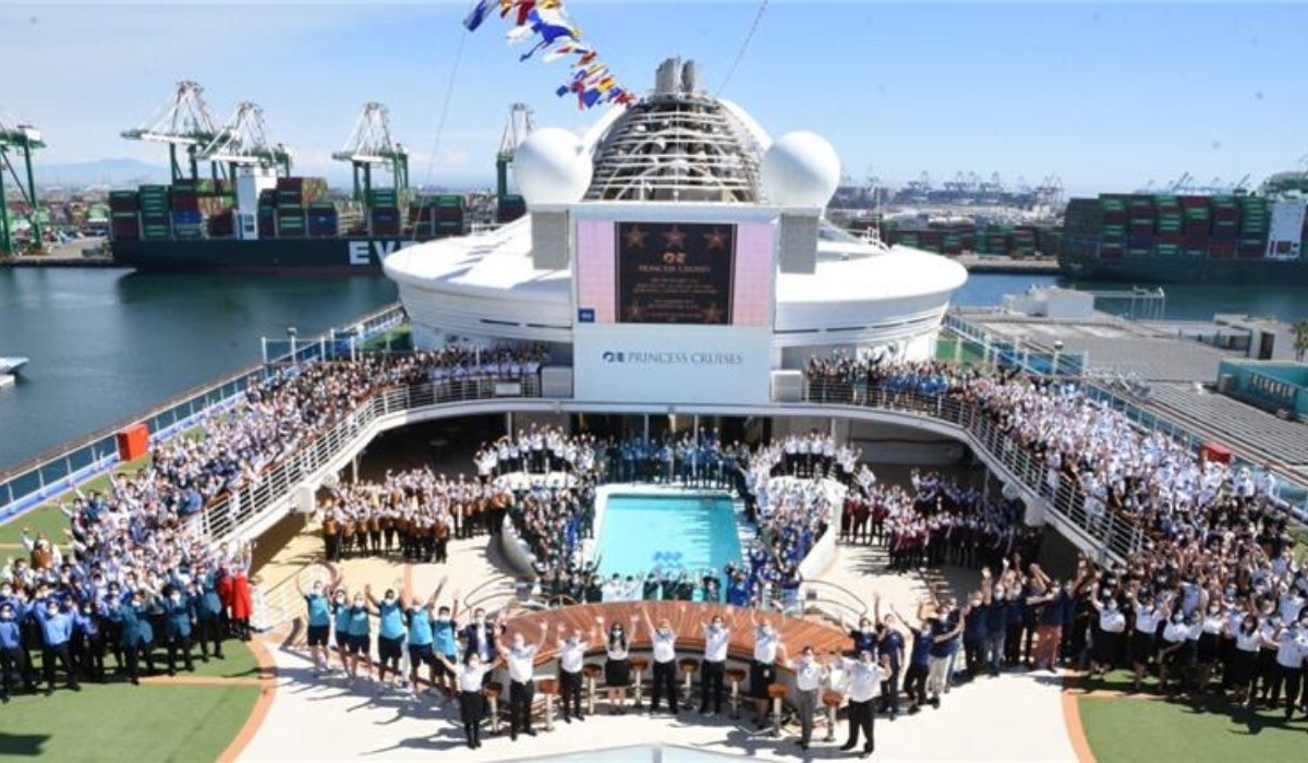 Grand Princess Becomes First Ship to Sail From the Port of Los Angeles