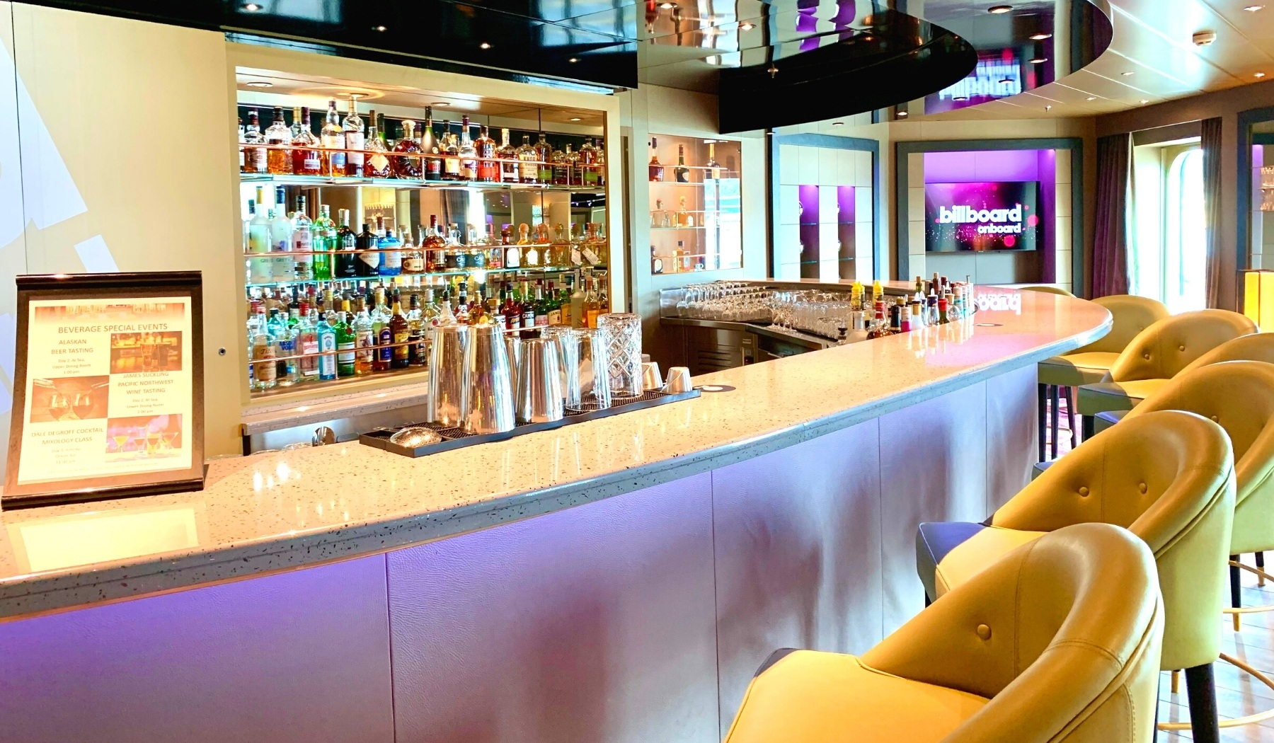 Holland America Line Bar Guide From Nieuw Amsterdam
