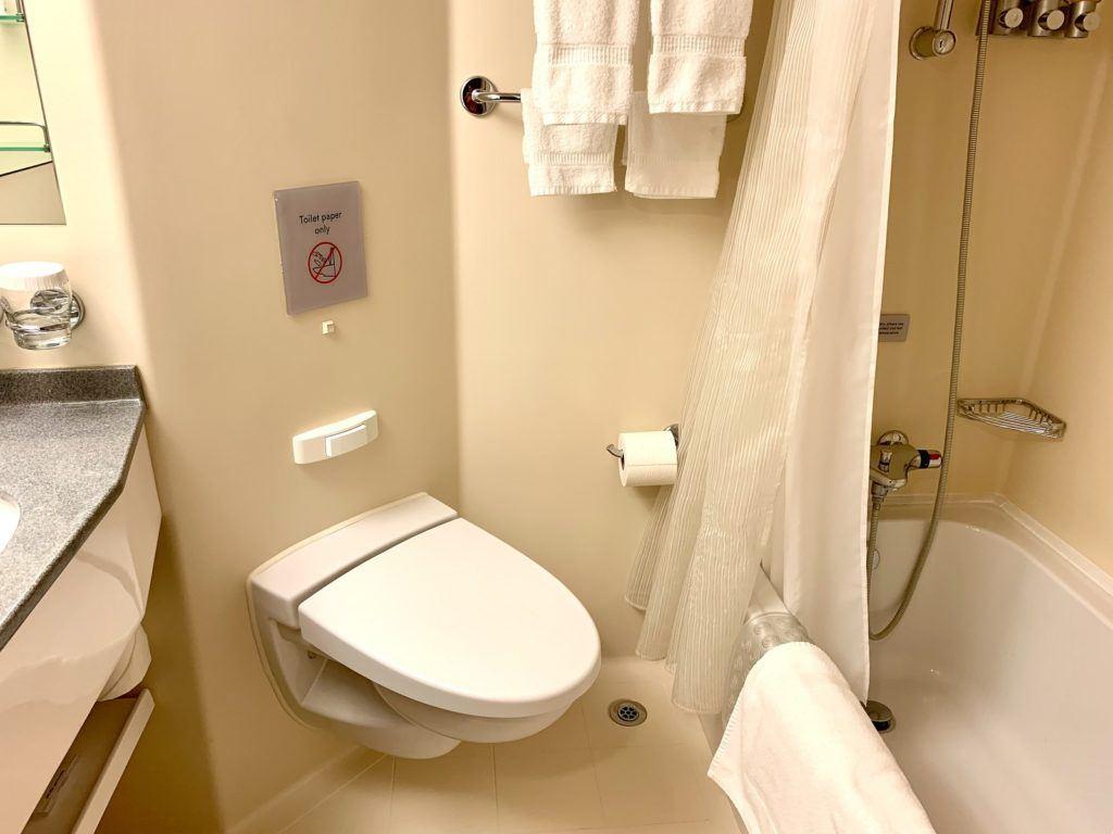 Bathroom on Nieuw Amsterdam