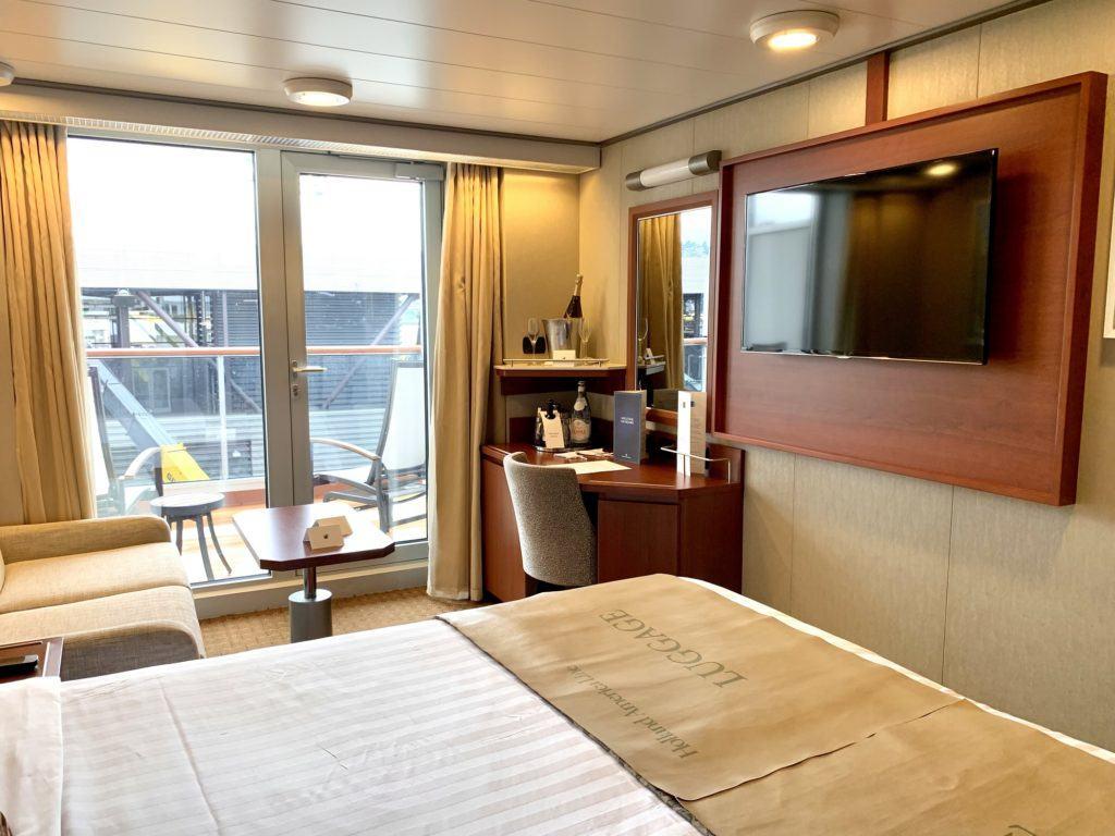 Veranda stateroom review for Nieuw Amsterdam
