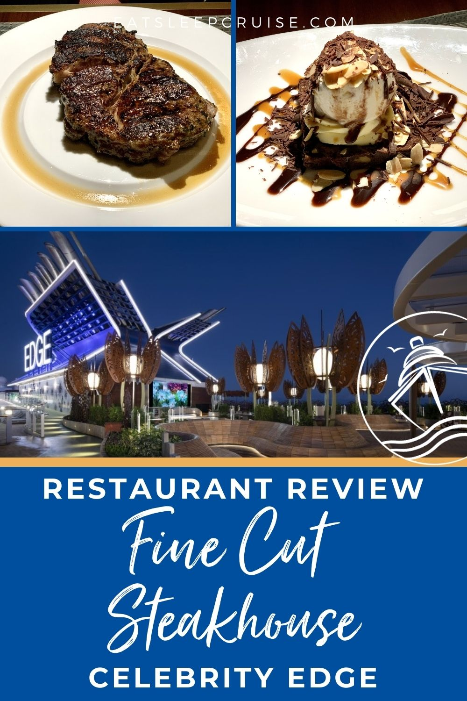 Restaurant Review Celebrity Edge