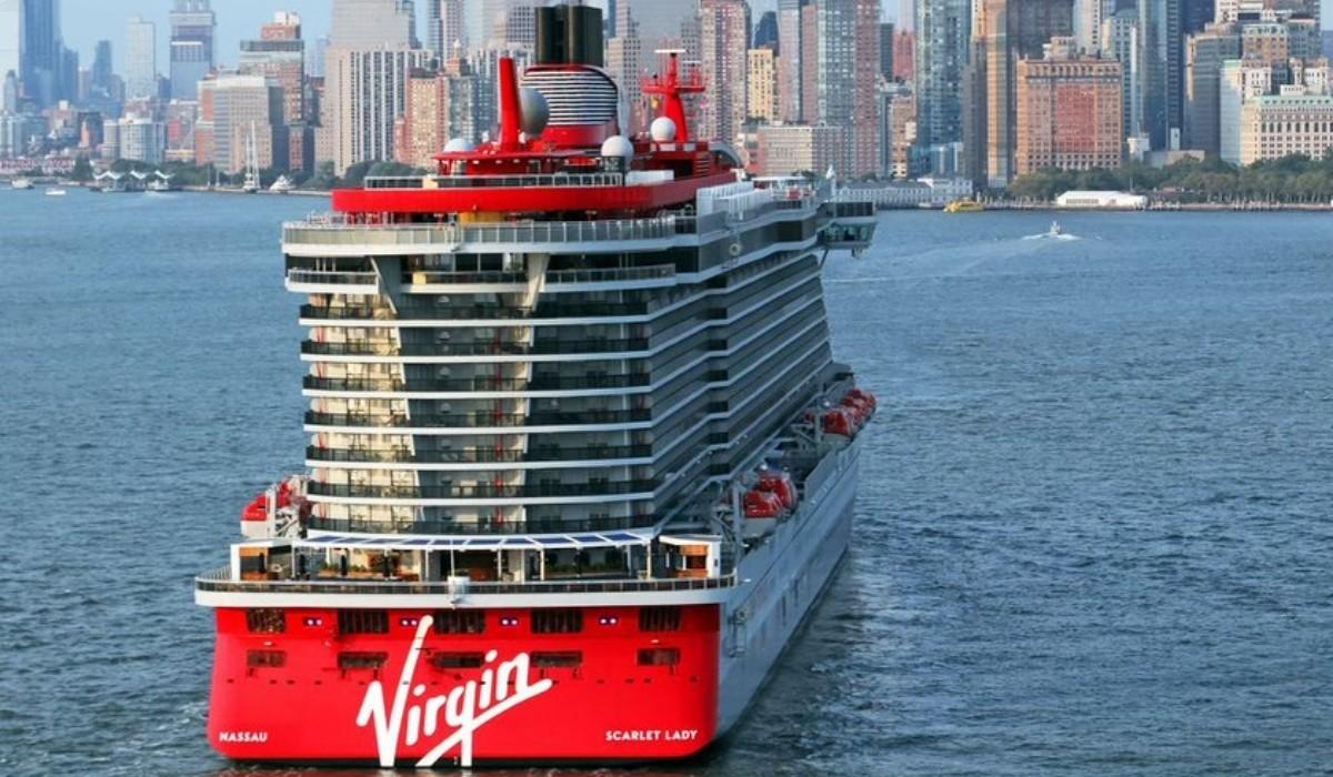Virgin Voyages Scarlet Lady Arrives in New York