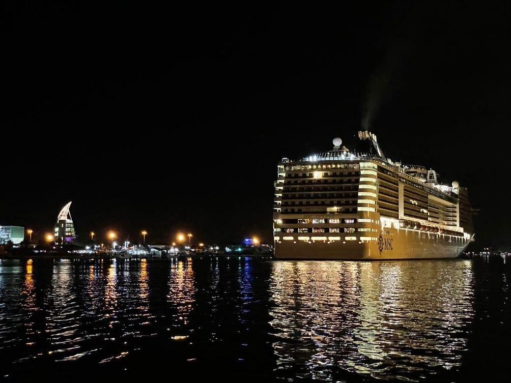 MSC Divina Sets Sail From New Homeport of Port Canaveral