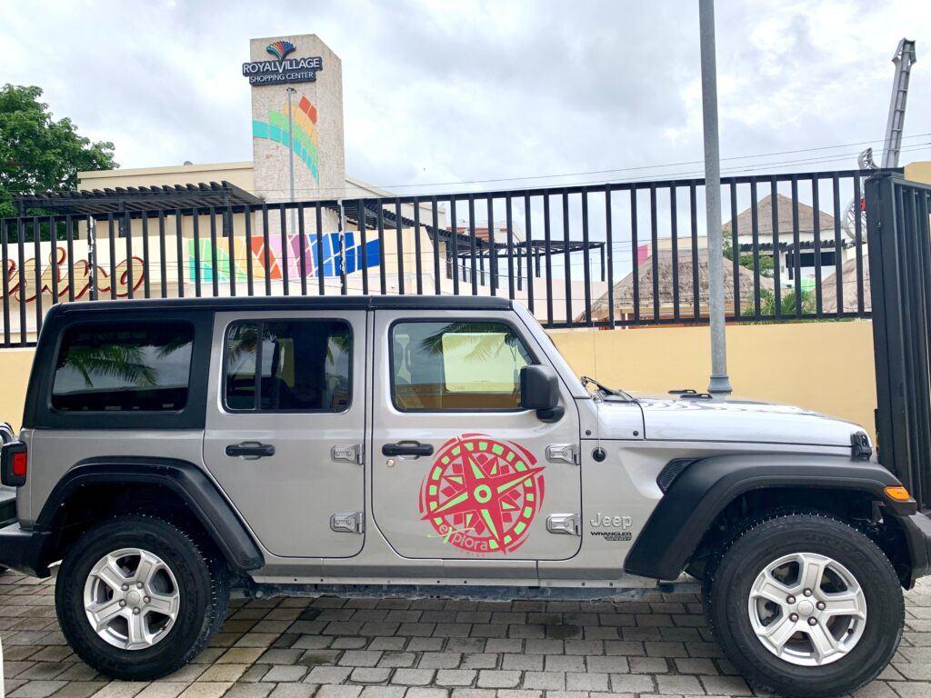 Jeep Adventure to Punta Sur National Park
