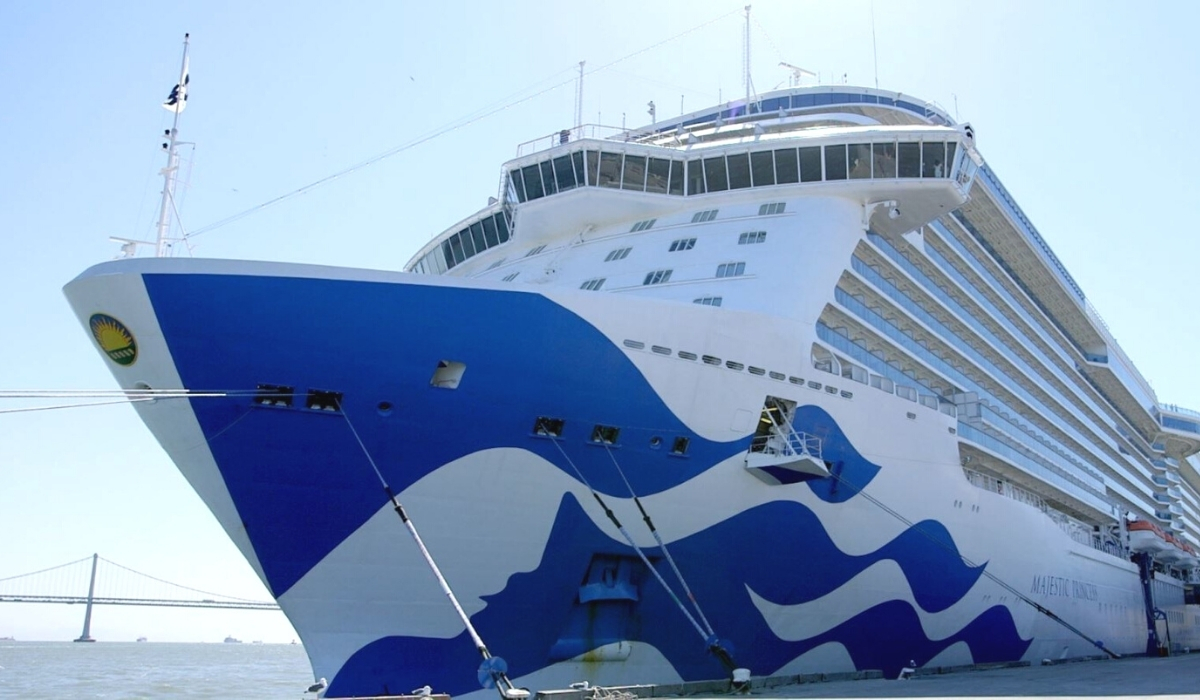 Majestic Princess First Cruise Ship to Call in San Francisco Since Pause