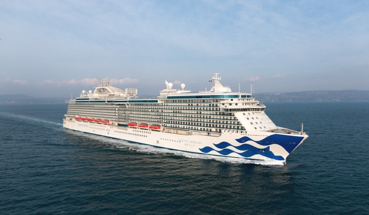 Majestic Princess Makes Maiden Call in Los Angeles