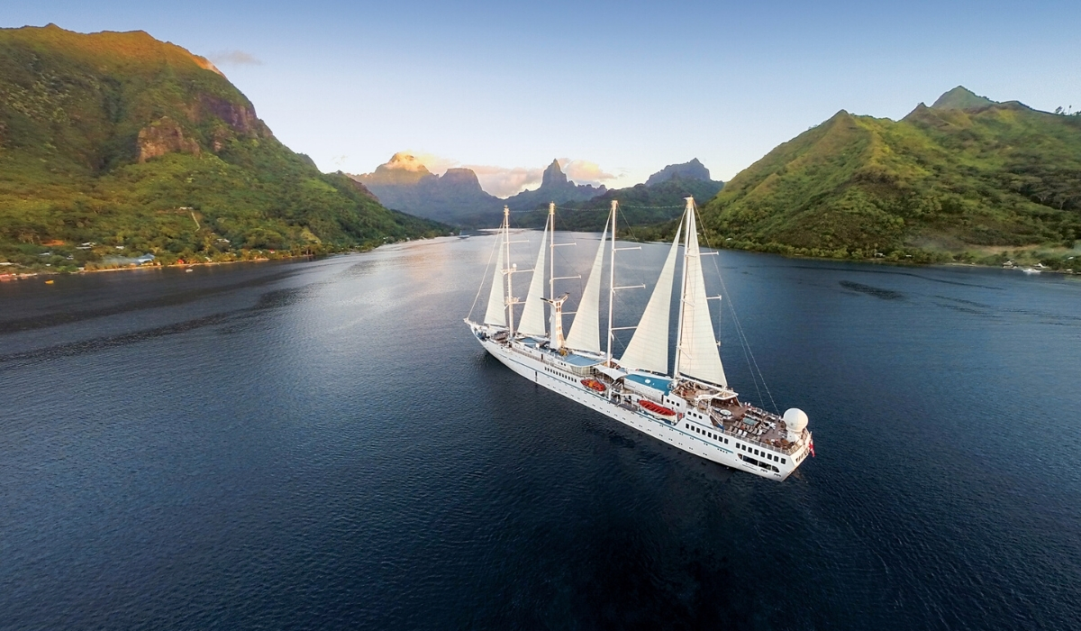 Windstar Cruises Now Sailing Two Ships in French Polynesia