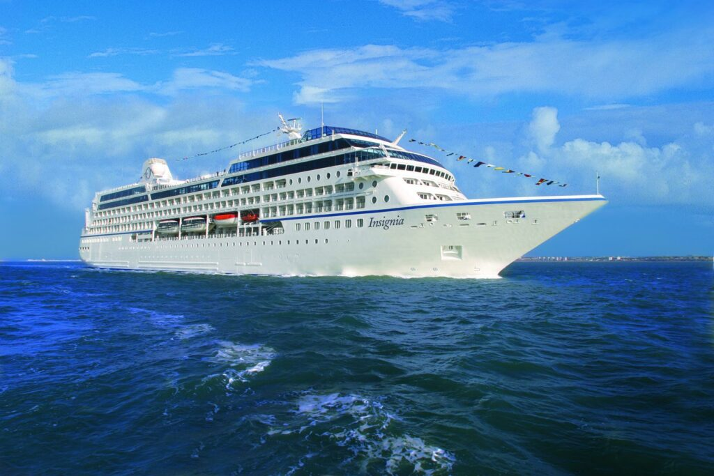 Oceania Details 2023 Europe and North America Itineraries