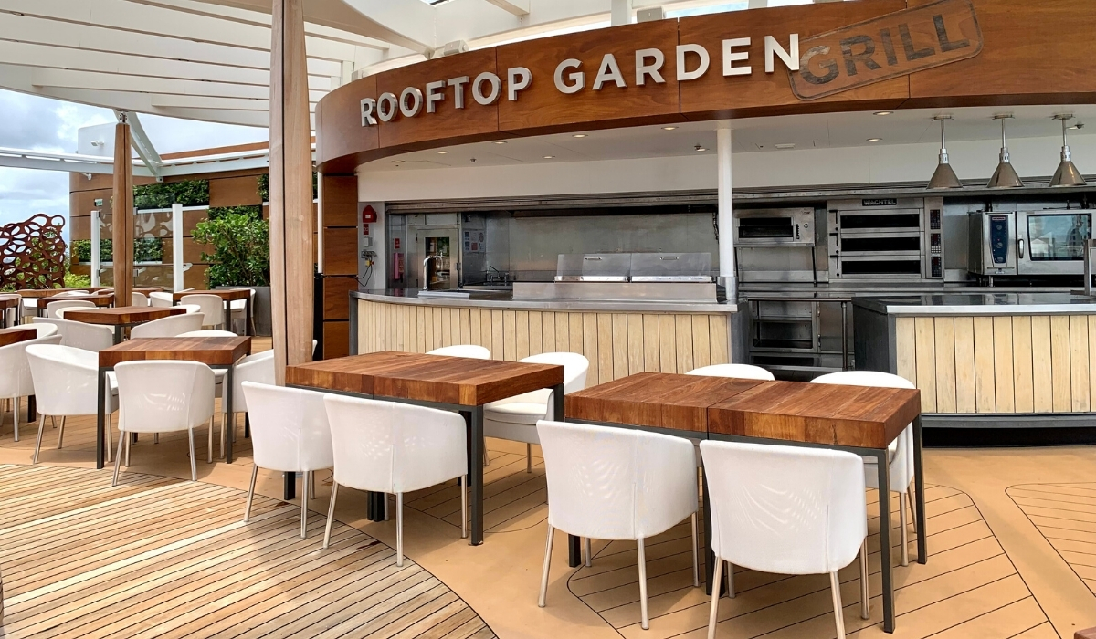 Celebrity Edge Rooftop Garden Grill Review